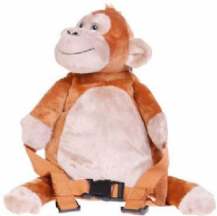 Personalised BoBo Buddies Mungo the Monkey Toddler Backpack with Reins